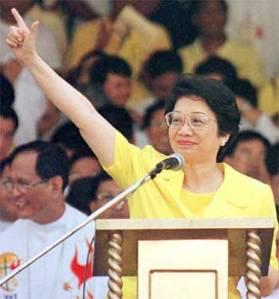 Ma. Corazon Sumulong Cojuangco viuda de Aquino (January 25, 1933 - August 1, 2009) (Photo courtesy of http://pinoywired.com/)